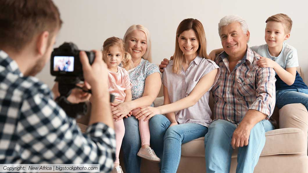 Familienfoto Shooting